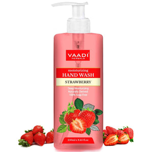 Deep Moisturizing Strawberry Hand Wash (250 ml / 8.5 oz)