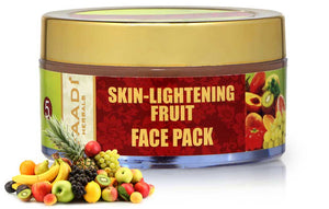 Skin Lightening Organic Fruit Face Pack - Anti Ageing - Protects Skin from Sun & Pollution (70 gms / 2.5 oz)