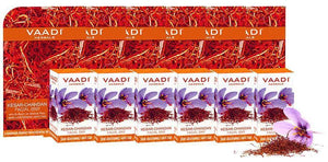 Organic Saffron Sandal Facial Bar with Orange Peel Extract - Lightens Marks (6 x 25 gms/0.9 oz)