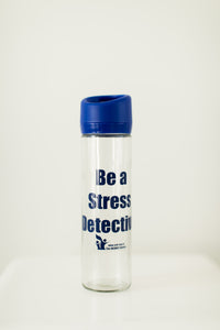 Shanker Self-Reg Glass Stress Detective Water Bottle