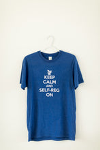 Shanker Self-Reg Premium Bamboo Cotton Keep Calm and Self-Reg On T Shirt