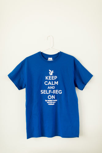 Shanker Self-Reg Keep Calm and Self-Reg On Research T Shirt