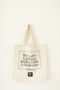 Self-Reg Summer Symposium Tote Bag with Stuart Shanker Quote