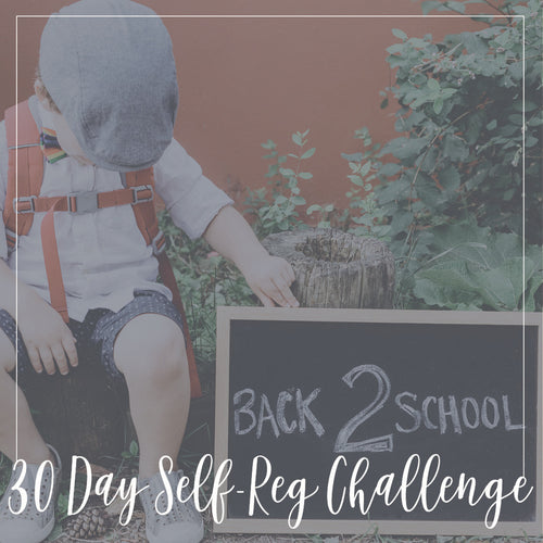 Self-Reg 30 Day Challenge: Back to School