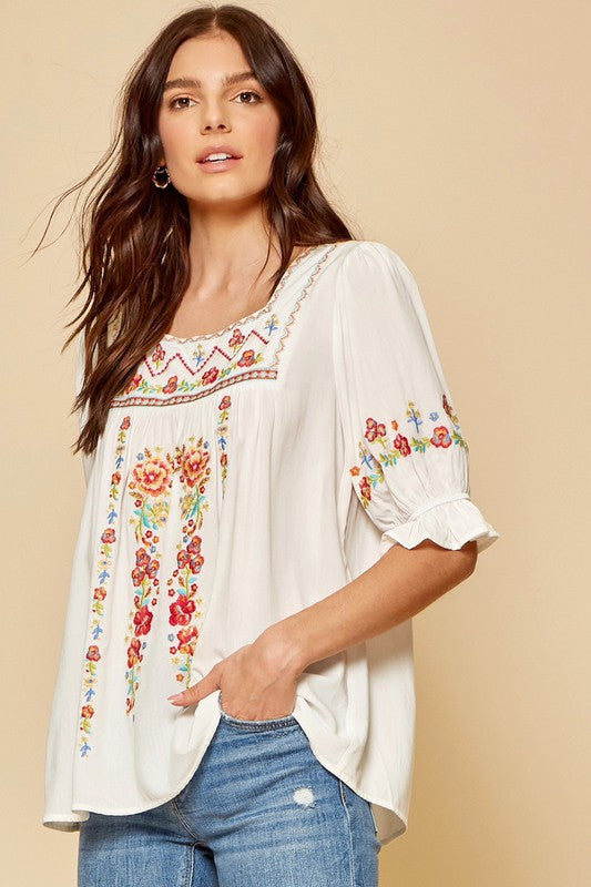 Spring Beauty Top