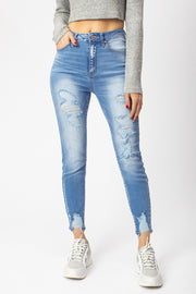 Light Wash/High Rise Jeans
