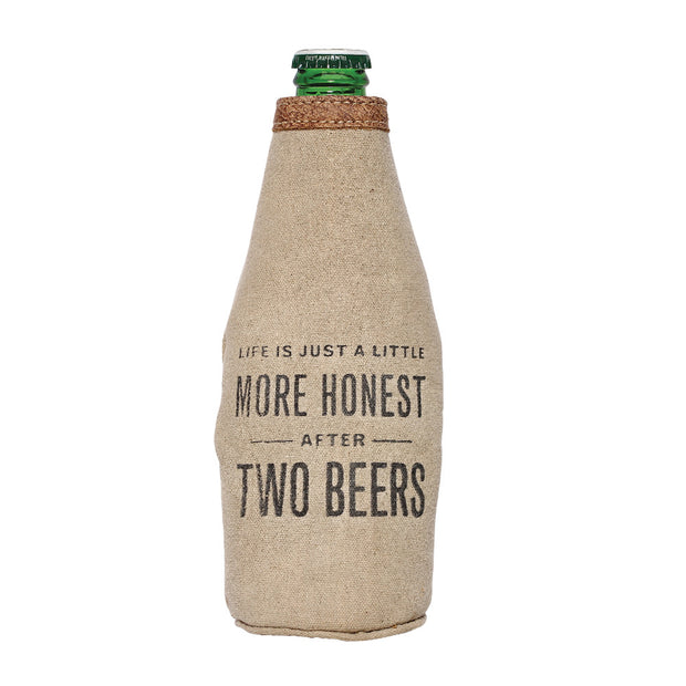 More Honest Beer Koozie