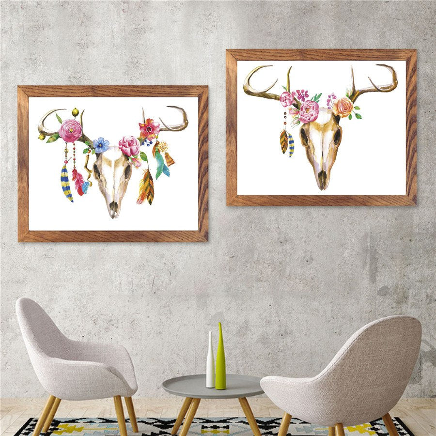 Bohemian Watercolor Southwest Art Collection