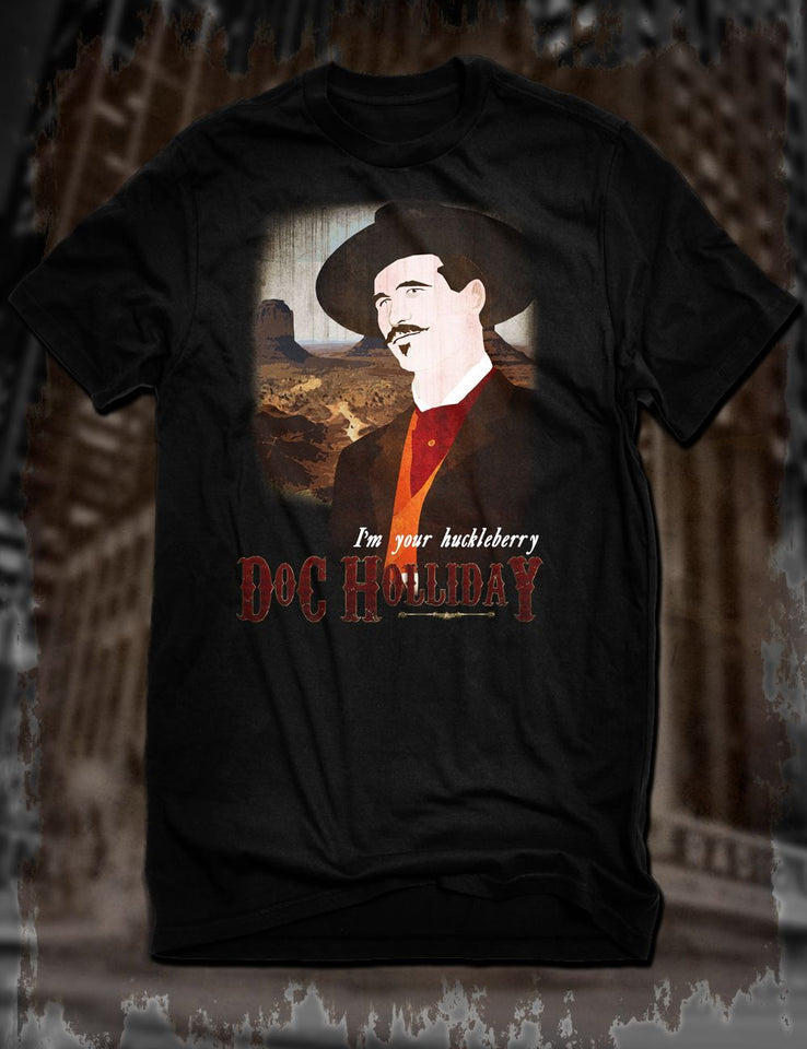 Tombstone Gunslinger T-Shirt Doc Holliday