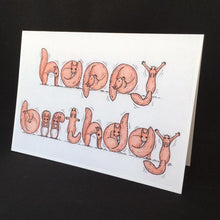 Load image into Gallery viewer, Squirrel Happy Birthday Card