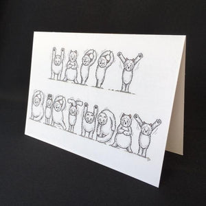 Westie Dog Happy Birthday Card