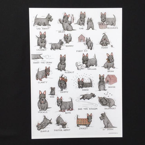 Scottie Dog Print