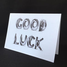 Load image into Gallery viewer, Badger Good Luck Card