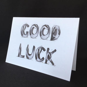 Badger Good Luck Card