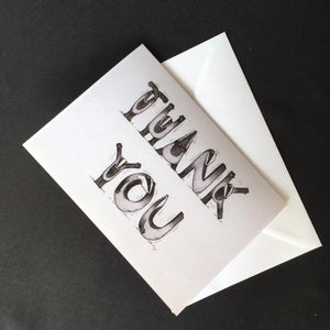 Badger Thank You Card