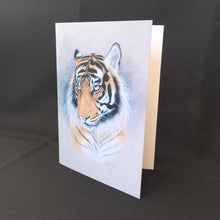 "Load image into Gallery viewer, Tiger Card - ""Tiger"""