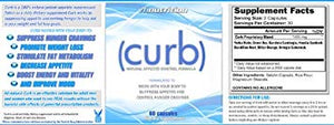 Curb Appetite Suppressant | 100% Natural Hunger and Appetite Reducer