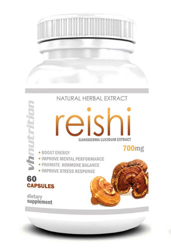 Reishi Mushroom | 700 mg | 35% Lingzhi Extract | 30 Day Supply
