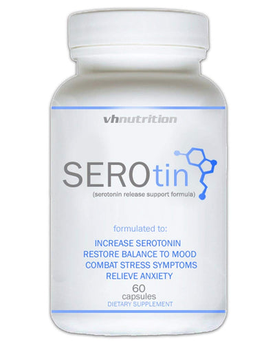 SeroTin Natural | Anxiety and Stress Relief Supplement to Boost Serotonin