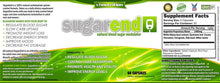 Load image into Gallery viewer, SugarEnd Blood Sugar Support Supplement to Control, Decrease and Lower Glucose Levels