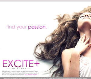 Excite | Female Libido Enhancer | Sexual Enhancement for Women