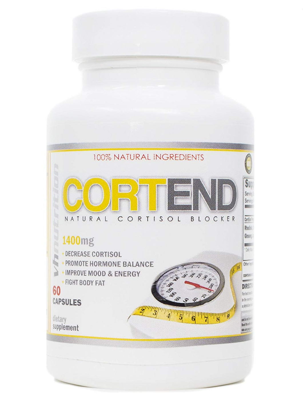 CortEnd Cortisol Blocker and Manager | Adrenal Fatigue Support for Men and Women