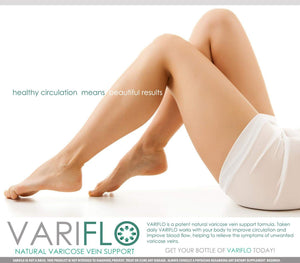 VariFlo Varicose / Spider Veins Support Supplement in Pills to Improve Poor Vein Circulation in Legs