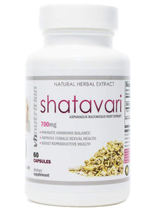 Shatavari | 700mg Asparagus racemosus Capsules | 30 Day Supply