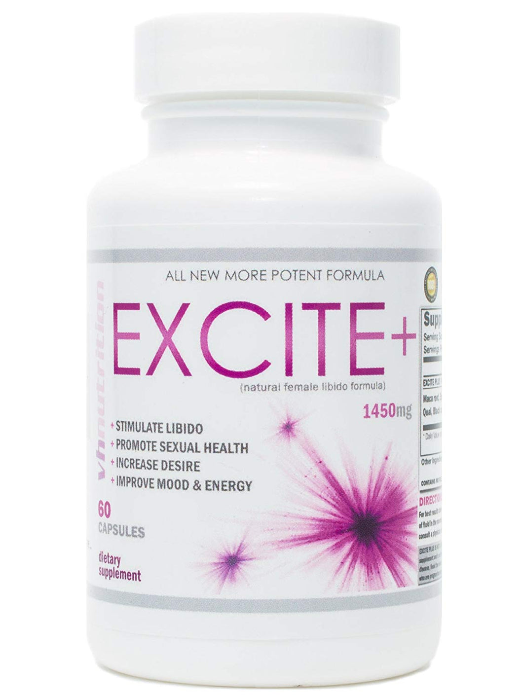 ExcitePlus | Female Libido Enhancer | Sexual Enhancement for Women to Boost Sex Drive