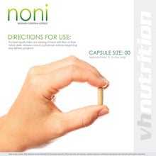 Load image into Gallery viewer, Noni Capsules | 700mg Morinda citrifolia Powder in Pills | 60 Day Supply