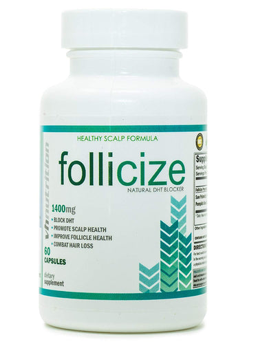 Follicize | DHT Blocker for Men and Women | Hair Regrowth Supplement