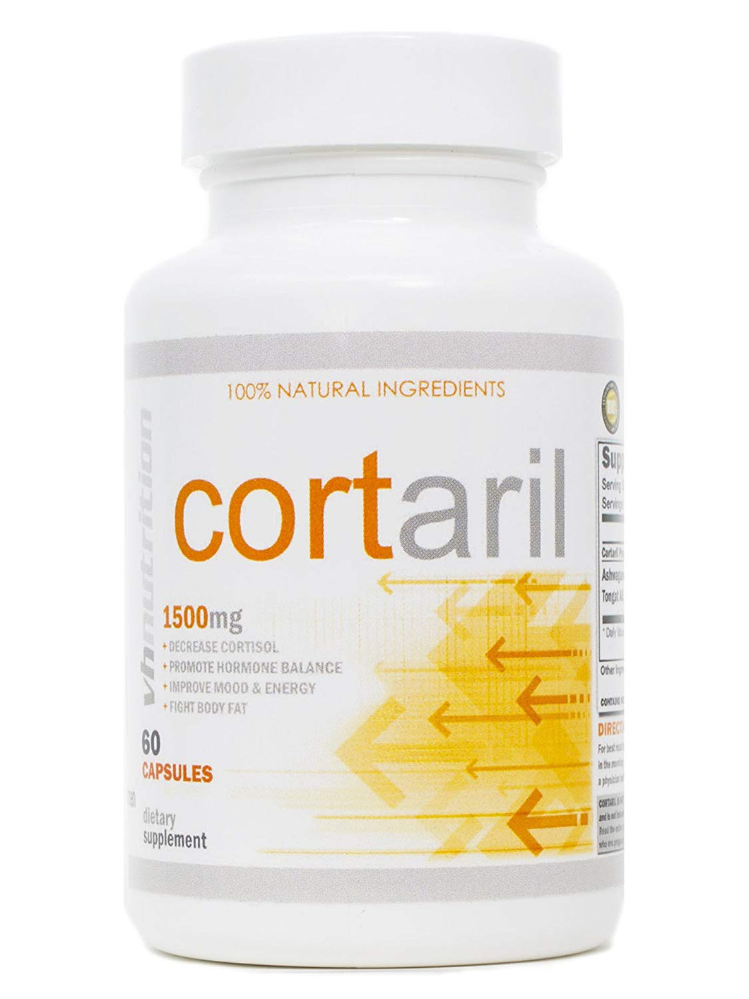 Cortaril Cortisol Manager and Blocker for Men and Women