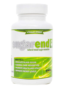 SugarEnd Blood Sugar Support Supplement to Control, Decrease and Lower Glucose Levels