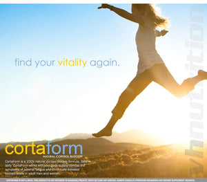 CortaForm Cortisol Blocker and Manager | Adrenal Fatigue Support