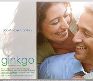 Gingko Biloba | 500 mg Extract Capsules | 30 Day Supply …