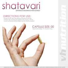 Load image into Gallery viewer, Shatavari | 700mg Asparagus racemosus Capsules | 30 Day Supply