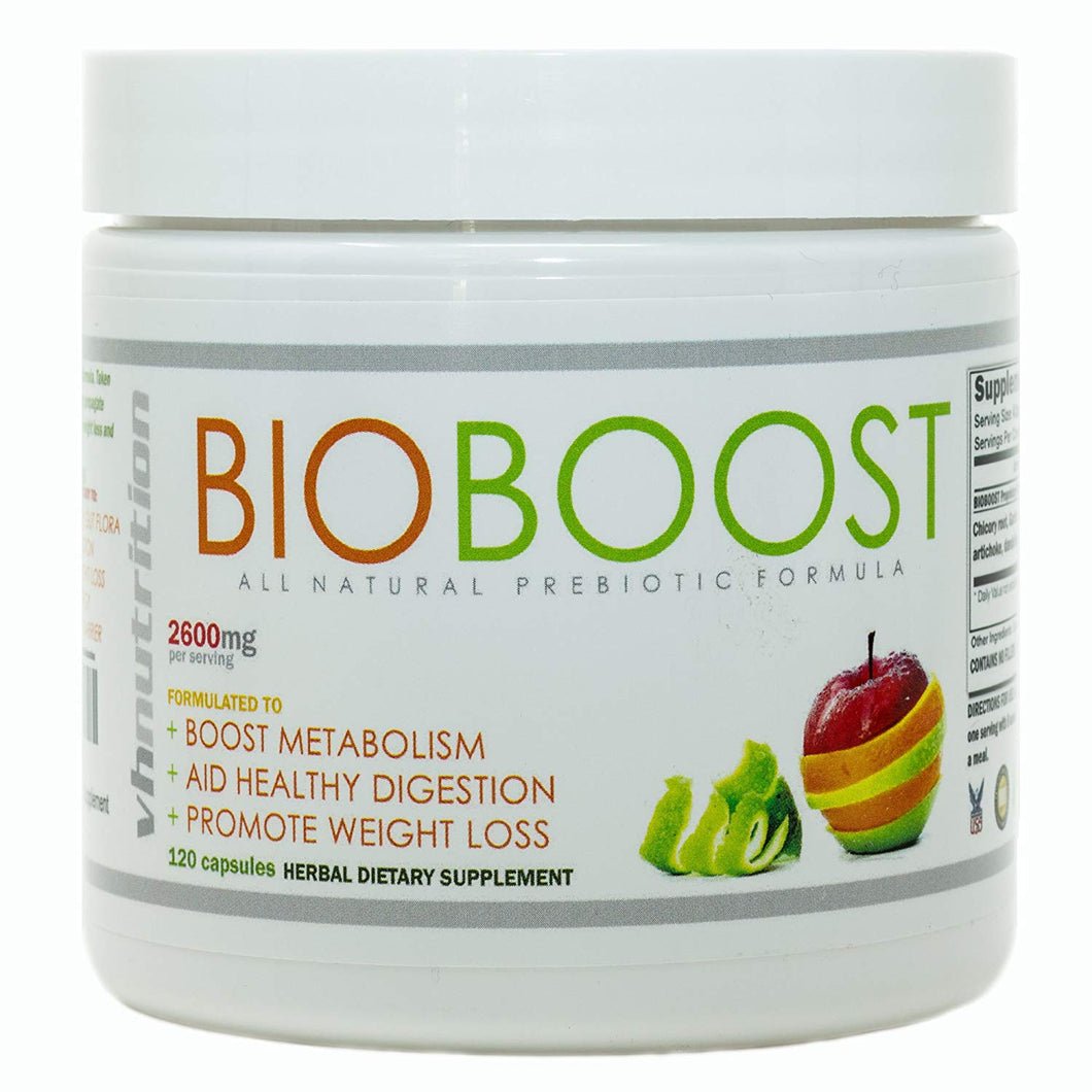 BioBoost PreBiotics Supplement for Digestive Health