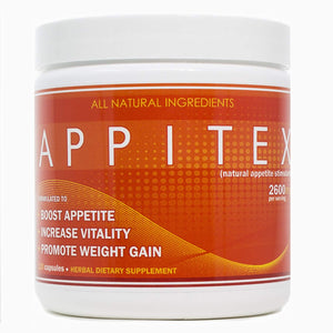 Appitex Weight Gain Pills for Men & Women Appetite Stimulant | Natural Orexigenic Supplement