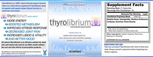 ThyroLibrium Thyroid Energy and Support Supplement for Men and Women