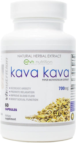 Kava Kava | 700mg Capsules | Piper Methysticum Extract