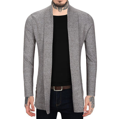 Men's Solid Color Slim Thin Sweater