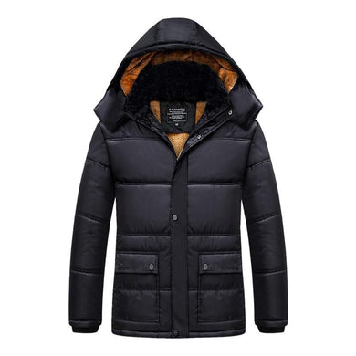 Mens Cotton Jacket Reversible Coat