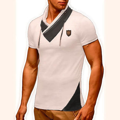 Men's Cool Style Patchwork Casual T-Shirts