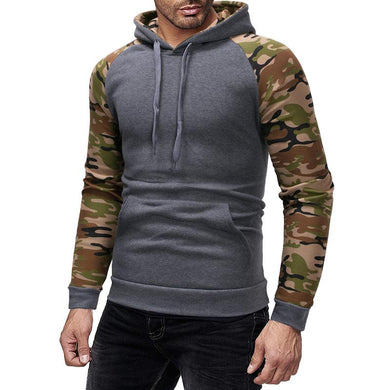 New Style Patchwork Causal Hoodie