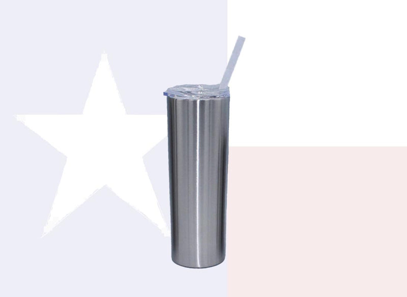 20oz Tall Texan Tumblers - Case / 24 Units