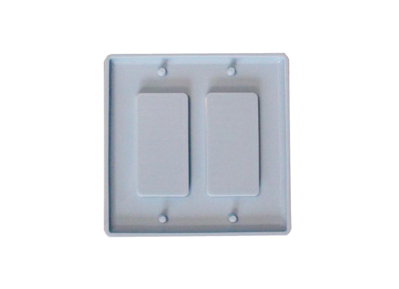Mold: Double Rectangular Switch Cover Mold
