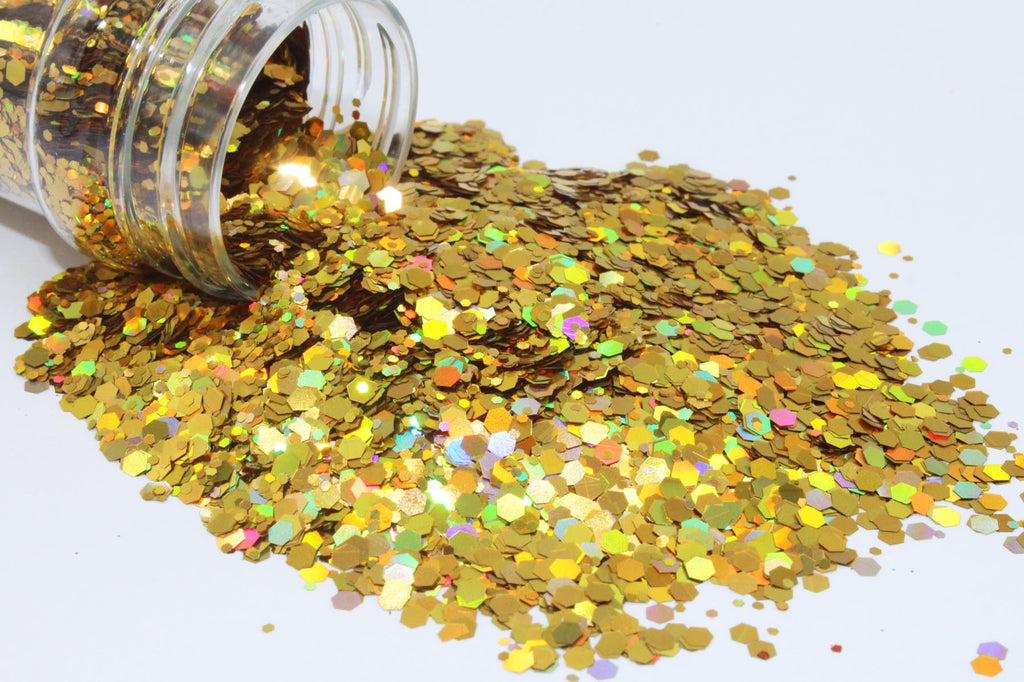 Chunky Holographic Golden Honey