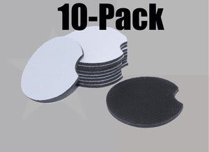 Neoprene SUBLIMATION Car Coasters - 10-Pack or 20-Pack