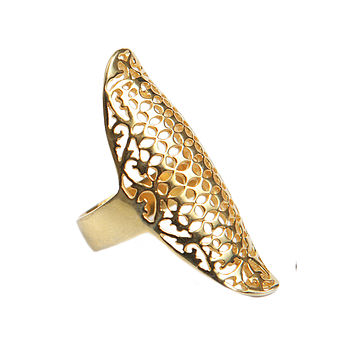 Gold Laguna Ring