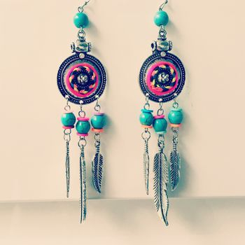 Festival Earrings Summer Tribal Earrings